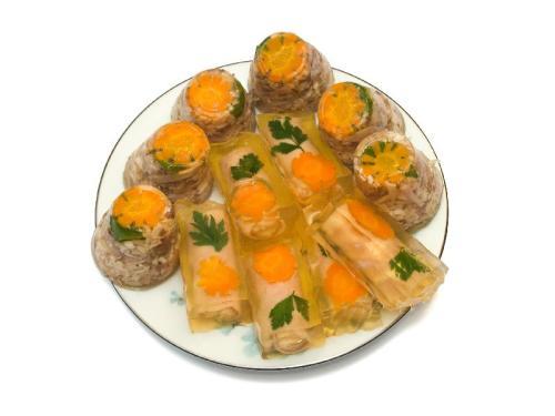 Galaretki porcjowe z ryb ( Tymbaliki)