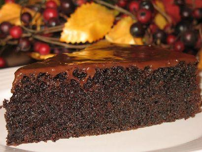 Moje ciasto czekoladowe