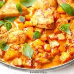 Kurczak curry z dynią
